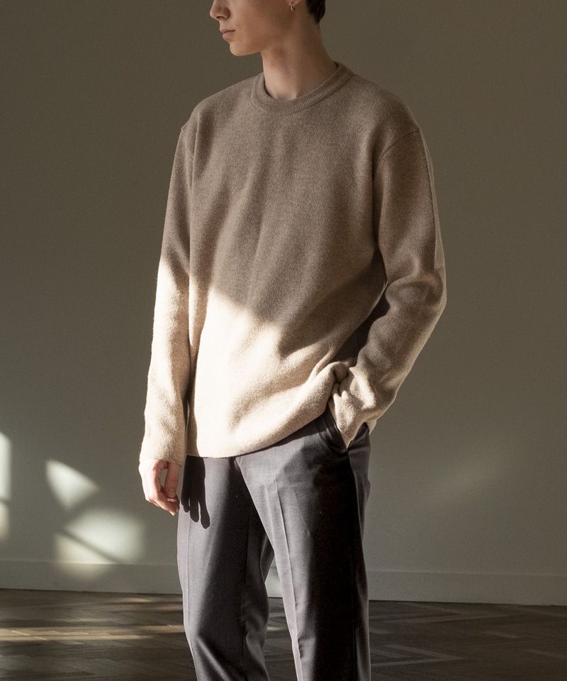 CASHMERE WOOL BC KNIT [OATMEAL]