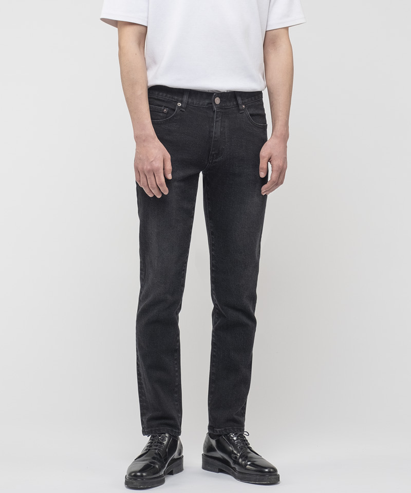 [2차 재입고] 1927 BLACK STANDARD JEANS [CROP SLIM]