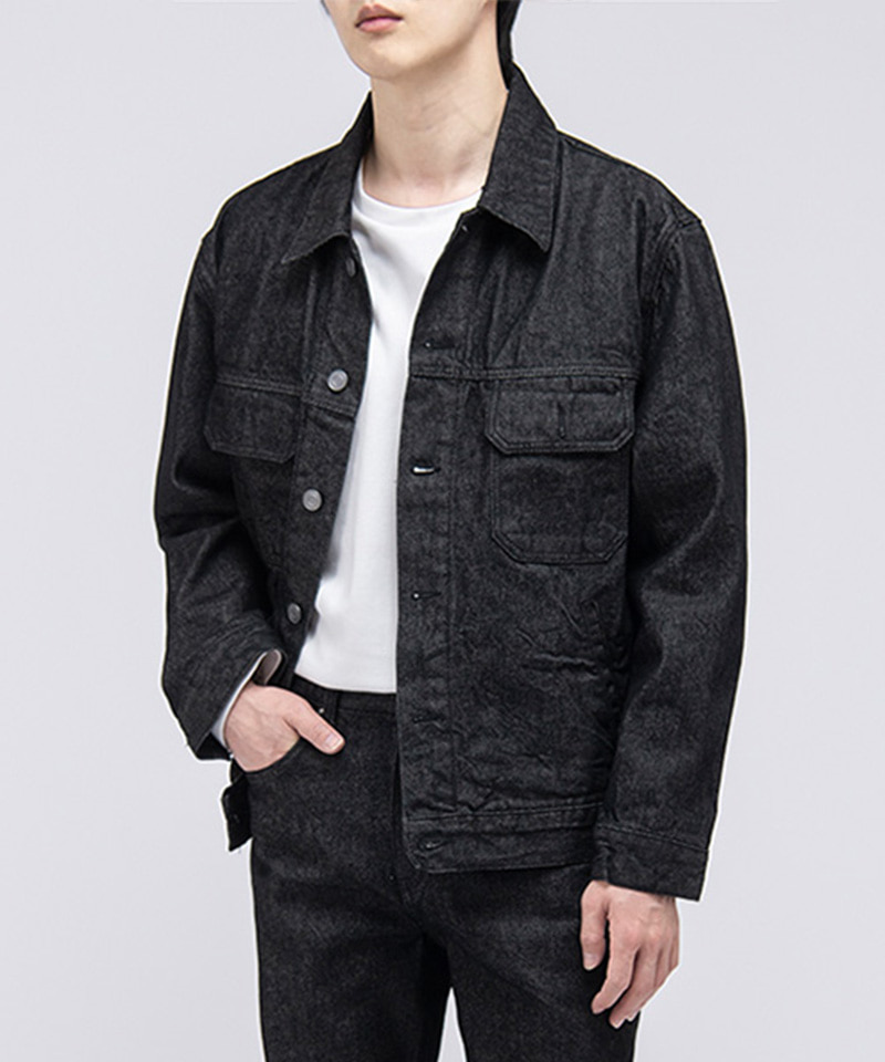 2004 NEW WASHED DENIM JACKET [1 WASH]