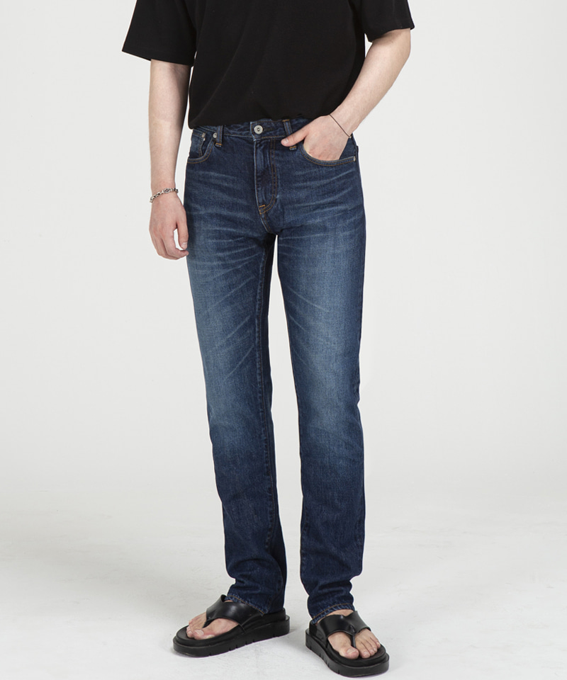 71007 JAPANBLUE COLLETION SELVEDGE JEANS [DARK BLUE]