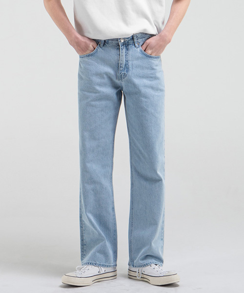 1897 ICE SHOWER JEANS [WIDE STRAIGHT]