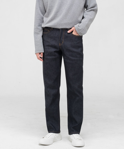 51002 COLLECT ORGANIC DRY TWILL JEANS [NEW STRAIGHT]