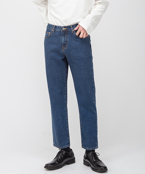1964 FADED JEANS [CROP STRAIGHT]