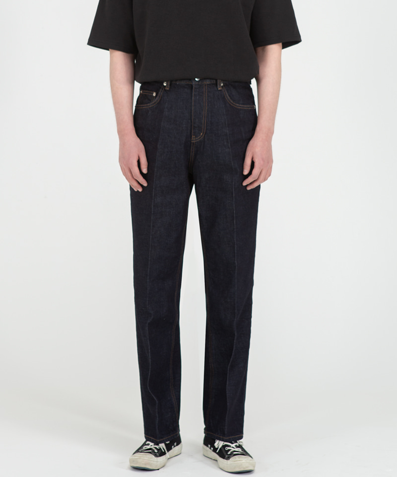 51003 HISHITOMO COLLECTION 1 WASH JEANS [RELAX STRAIGHT]