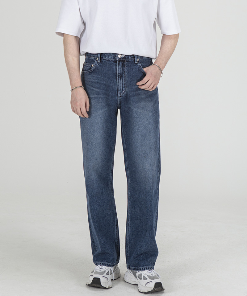 1890 MIDNIGHT JEANS [WIDE STRAIGHT]