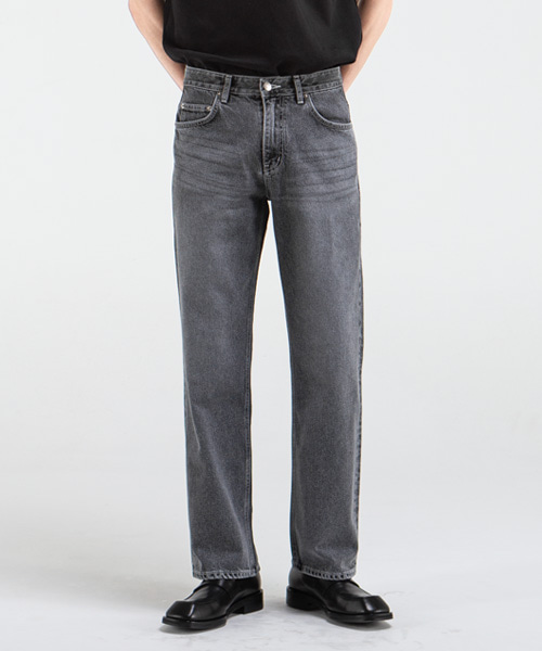 1892 GREY HOUSE JEANS [WIDE STRAIGHT]