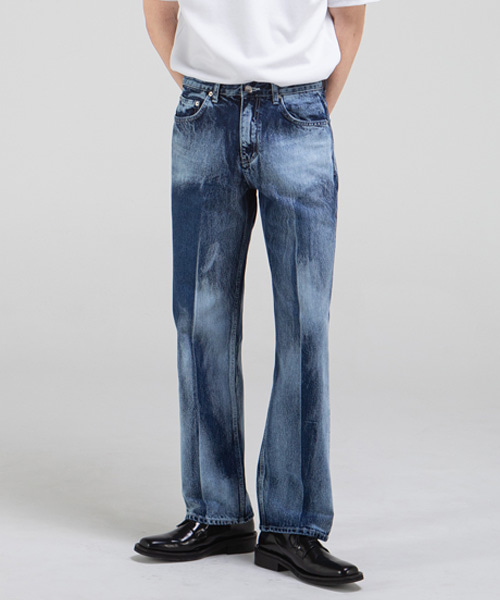 1805 HYBRID BLUE JEANS [WIDE STRAIGHT]