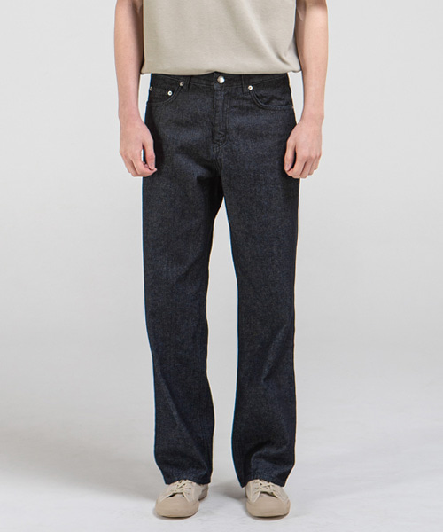 1898 BLANK JEANS [WIDE STRAIGHT]
