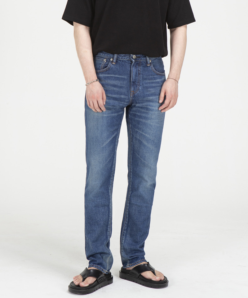 71008 JAPANBLUE COLLETION SELVEDGE JEANS  [MIDDLE BLUE]