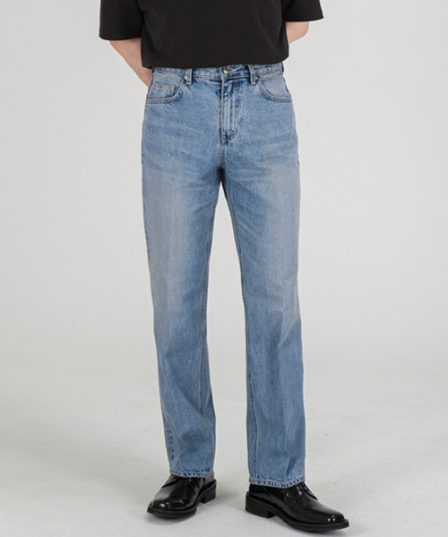 51005 HISHITOMO COLLECTION LIGHT BLUE JEANS [RELAX STRAIGHT]