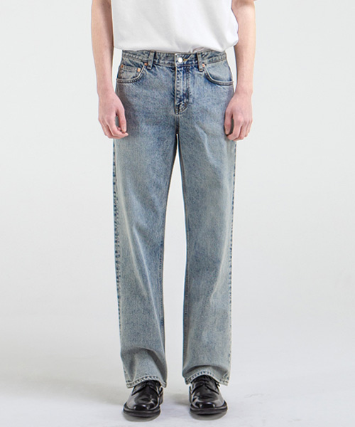 1896 NOCK JEANS [WIDE STRAIGHT]